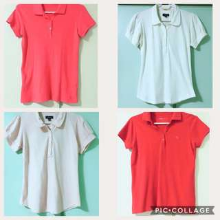 Forme, Rusty Lopez & Bossini Polo shirt s❗️Free SF - Price for 4!