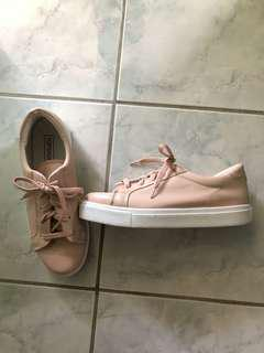 Topshop Blush Sneakers
