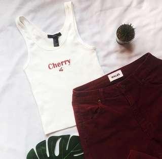 F21 cherry top