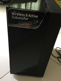 *Good condition Samsung Wireless & Active subwoofer