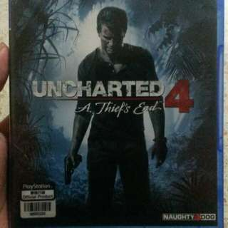 Uncharted 4 PS4 (rall) asia version