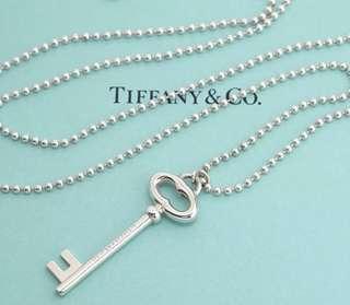 Tiffany & Co Large Oval Key Ball Beaded.