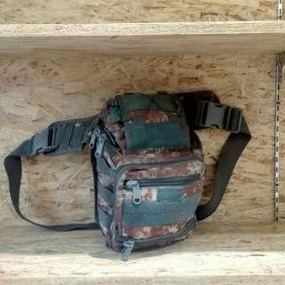 Sling bag Militer Loreng