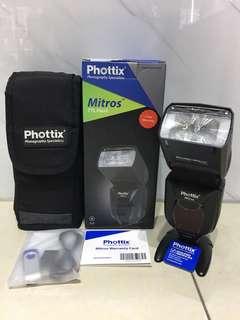 🚚 曙光數位 Phottix Mitros For Canon  公司貨