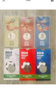 World Cup FIFA 2018 Russia Exclusive Coins