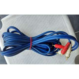 Long Thick RCA Cable