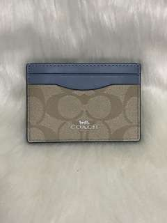 Coach Leather Card Case from USA