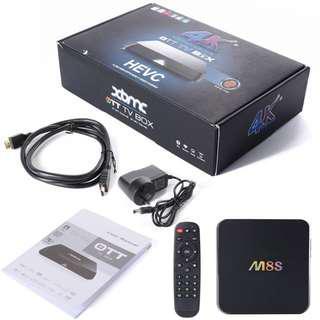 M8S 4K 3D TVBox Amlogic S812 Android Box 2GB+8GB
