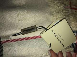 Burberry scarf wrap