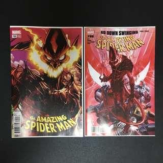 Amazing Spider-Man #799 NM Set