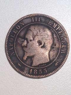 NAPOLEON 3 1855