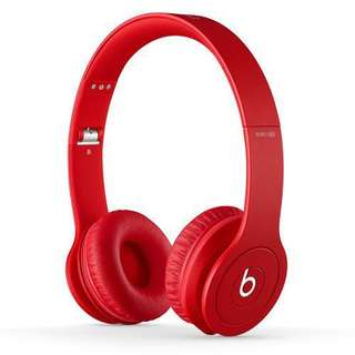 Beats Solo HD Drenched Red