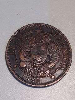 ARGENTINA 1885