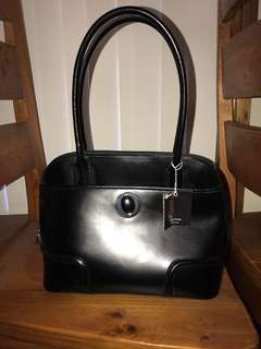 Oroton Ebony Grip Top bag