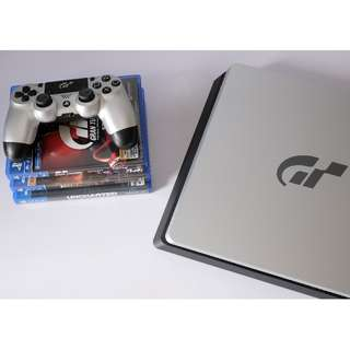 Sony PS4 Slim Gran Turismo Edition 1TB with Games Not Xbox Nintendo
