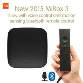 Xiaomi Mibox 3 with free Alcatroz Keyboard and power adapter