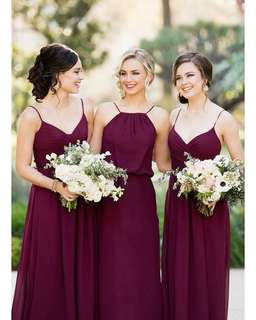Made-to-measure Bridesmaid Dress