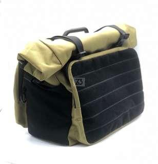 Roll Top Touring Bag Khaki (for Brompton)