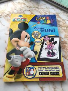 Micky colouring book