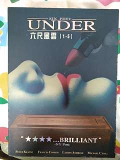 六呎風雲第一至第五季six feet under box set dvd