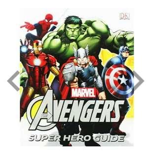 Marvel Avengers Super Hero Guide