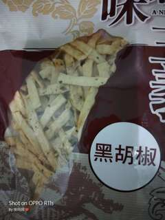 鱈魚黑胡椒片