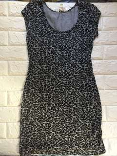 Zara Trafaluc Animal Print Dress