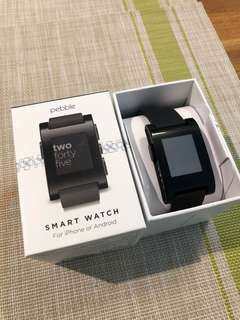 Pebble watch - lightly used