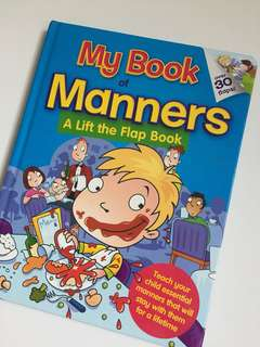 My Book of Manners (A Lift the Flap Book)