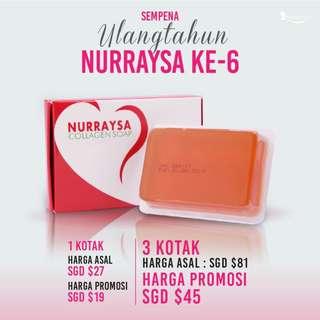 Promo Nurraysa Collagen Soap