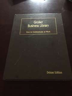 Grolier business library