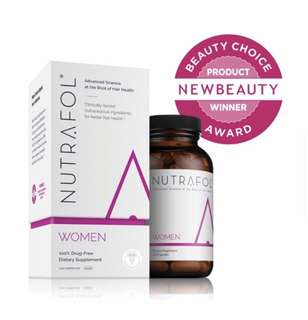 [IN-STOCK] Nutrafol Hair Loss Thinning Supplement – Women Hair Vitamin for Thicker Healthier Hair