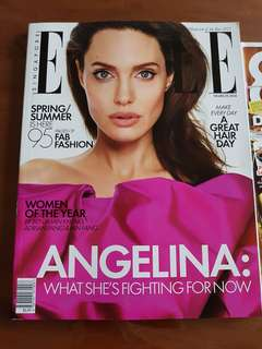 Elle March issue and 8days