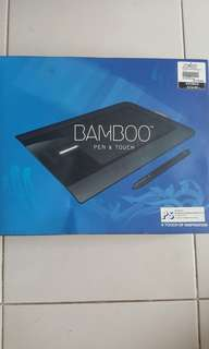 wacom bamboo pad for editing