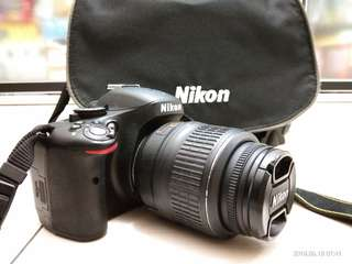 Preloved Nikon D5100 (exclude lens,  body only)