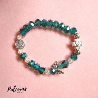 Kiddie rosary bracelets