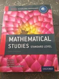 IB Standard Maths Studies