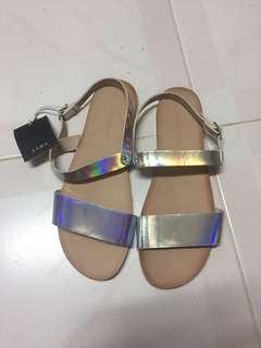 Zara涼鞋