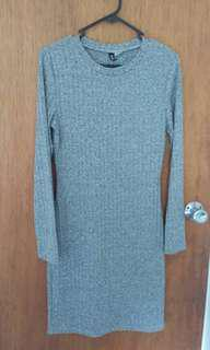 H&M Divided Knit Dress