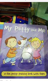 Potty book (board book)