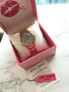 Brand New Betsey Johnson Shell Watch