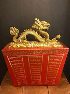 Marina Bay Sands Golden Dragon - decorative