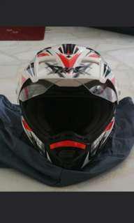 WTS Trax T311 Motorcross Helmet