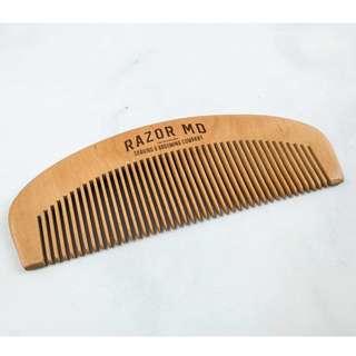 BN Razor MD Wooden Comb