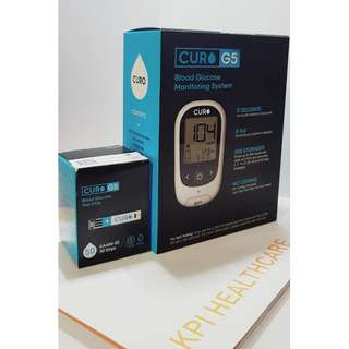 🚚 Curo G5 Blood Glucose Monitoring System Promo Set + 1 Bottle of 50 Blood Glucose Strips