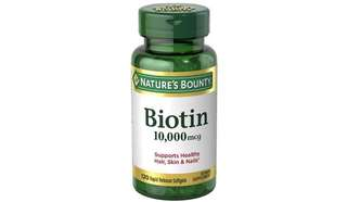 [IN-STOCK] Nature's Bounty Biotin 10,000 mcg - Rapid Release Softgels - 120 ea
