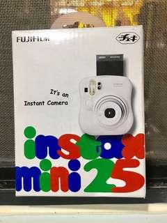 FUJI FILM  富士即可拍相機 mini 25