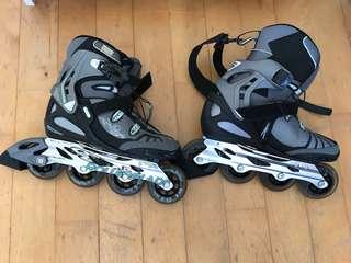 Lo-Balance in-line skates / roller blades U.K. 7