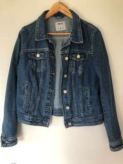 Denim jacket size 12