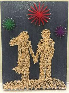 Love Till The End Of Time String Art